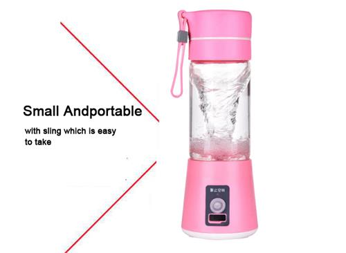 low price 380ml rechargeable battery portable juicer blender