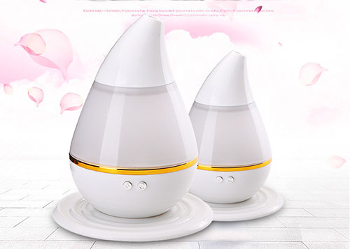 7 colorful lamp water drop 300ml mini USB ultrasonic humidifier