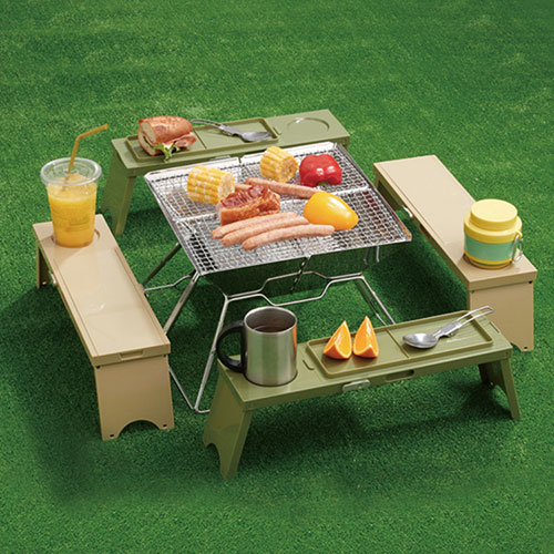 New product portable spliced foldable mini picnic table for camping