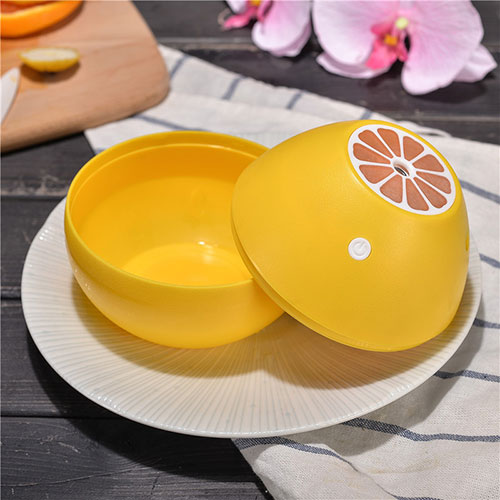 Creative lemon type 300ml mini USB ultrasonic air humidifier