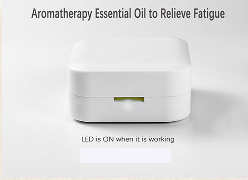 New design rechargeable water free pure essential oil diffuser