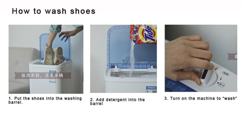 Home appliance 4kg mini washing machine both for shoes and clothing