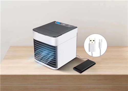 Hot sale desktop mini USB air cooler with ice box for room