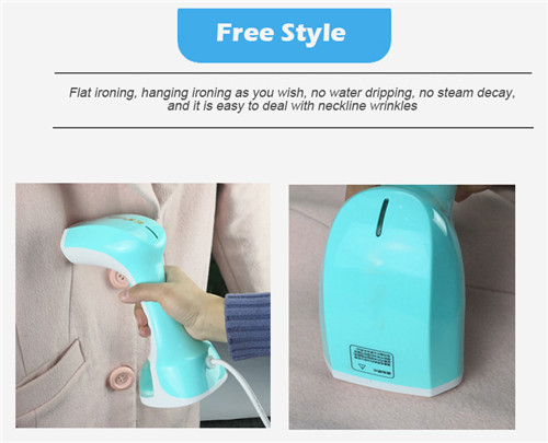 1200W travelling electrical handle garment steamer