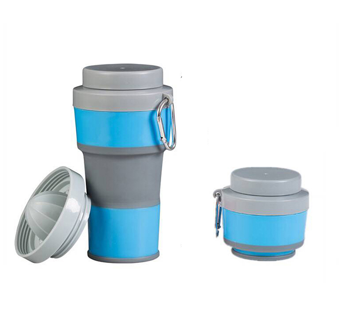 450ml foldable travelling cup