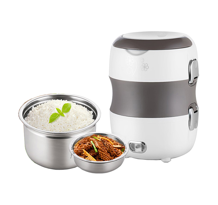 2.0L Stainless steel 304  three  layors electronic lunch box