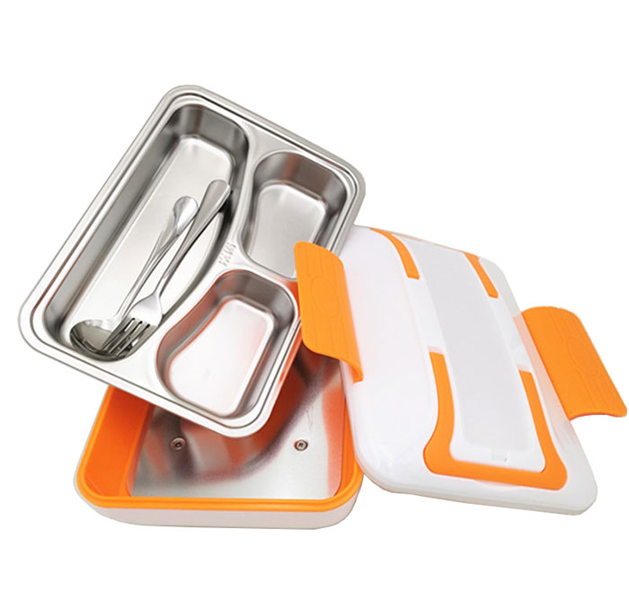 SUS 304 electrical lunch box for food warmer
