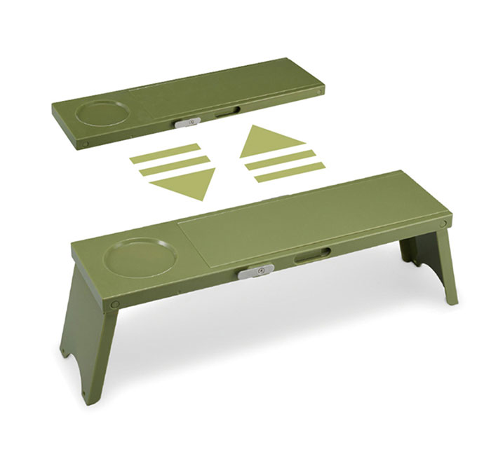 New product portable spliced folding mini picnic table for camping