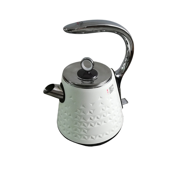 Elegant European style 1.7L stainless steel  electrical water kettle