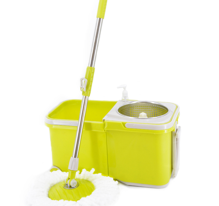 Super Mop Microfiber Floor Cleaning Mop with Bucket