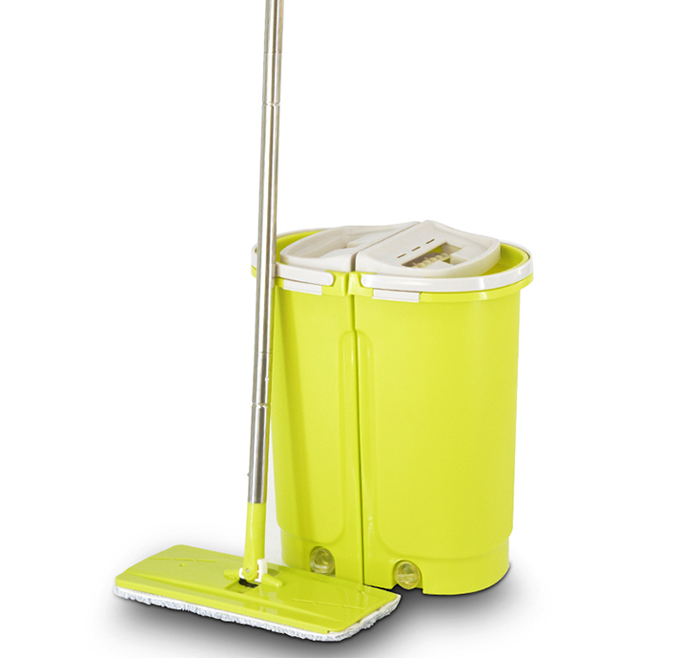 household appliance flat mop set with bucket