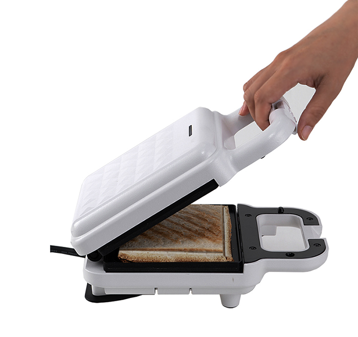 DIY home sandwich maker / waffle maker for breakfast